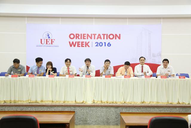 UEF tổ chức gặp gỡ, đối thoại giữa lãnh đạo nhà trường và sinh viên