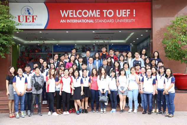 UEF giao lưu cùng Đại học Tế Nam - Đài Loan
