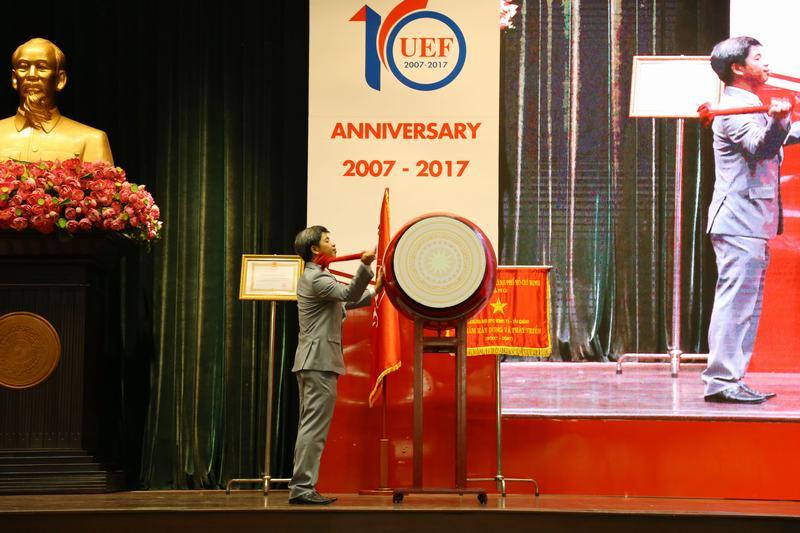 Khai giảng - kỷ niệm 10 năm thành lập UEF 22