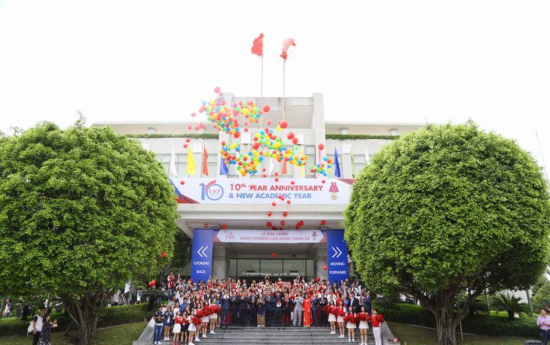 Khai giảng - kỷ niệm 10 năm thành lập UEF 44