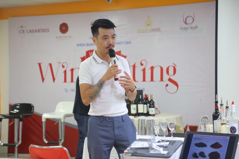 Nguyễn Minh Chí – Quản lý Bar Vesper
