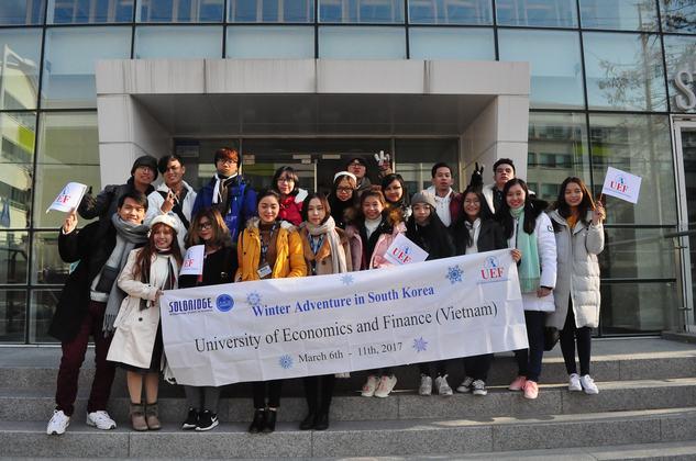 Cùng nhìn lại hành trình học tập tại xứ sở Kim Chi của sinh viên UEF
